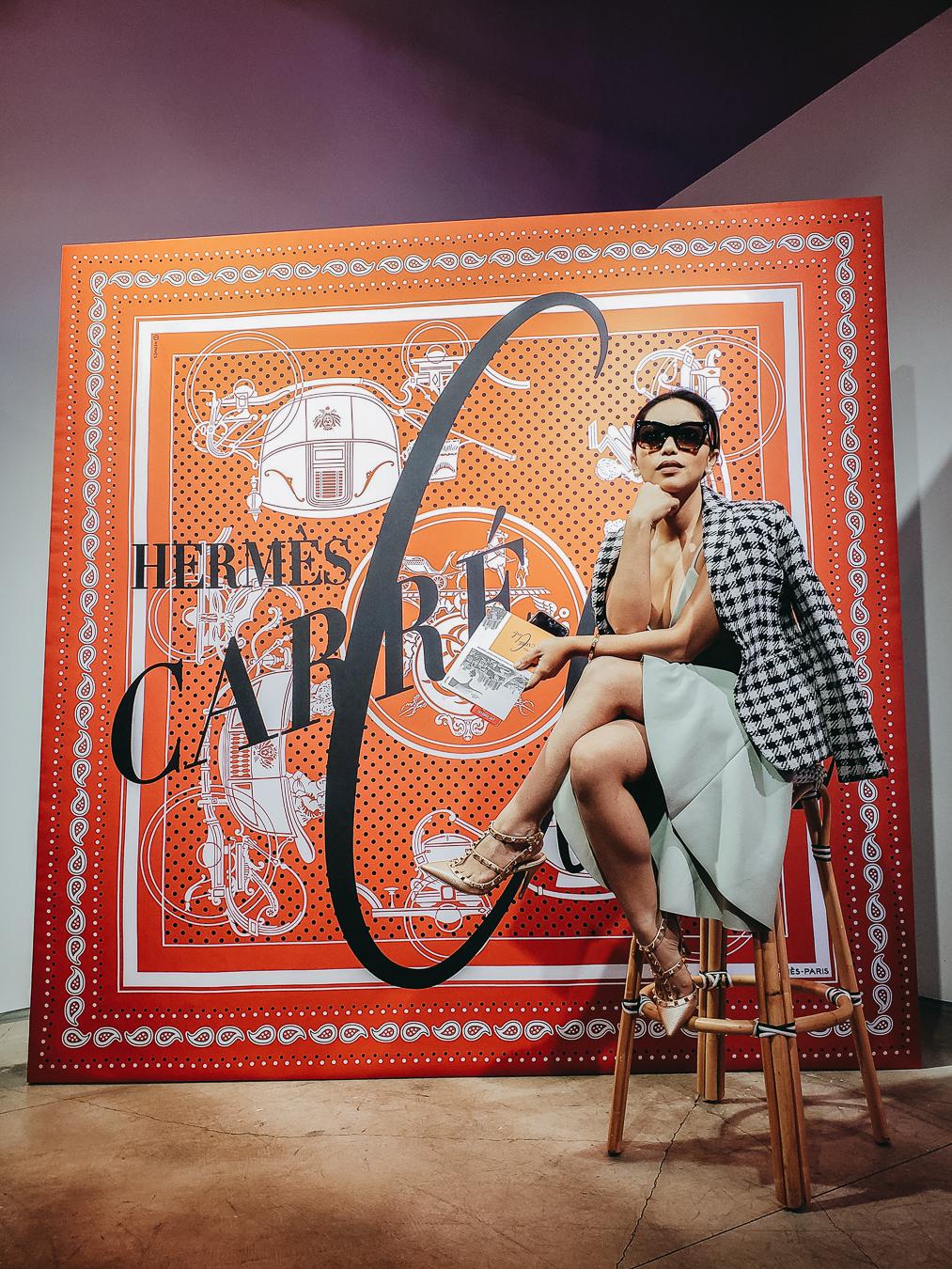 Hermès Carré Club L.A