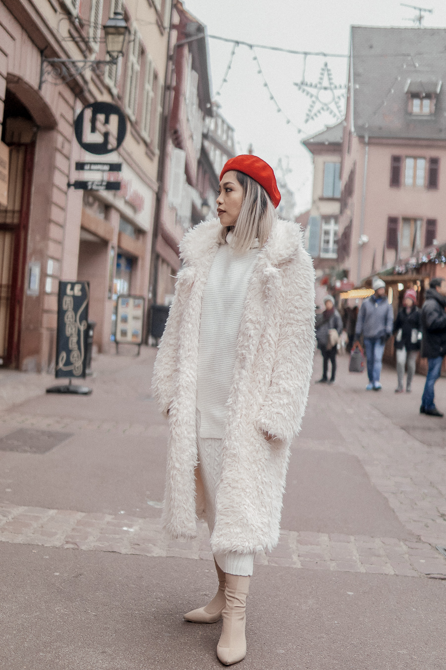 White Outfit for Winter