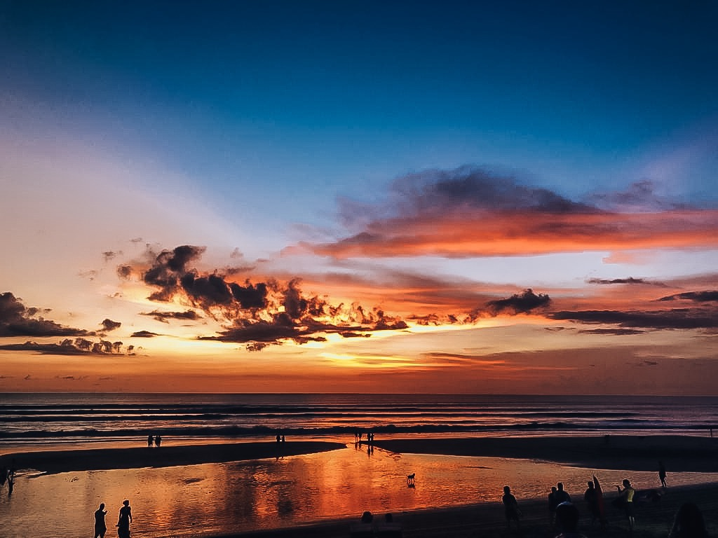 Bali Beach Sunset