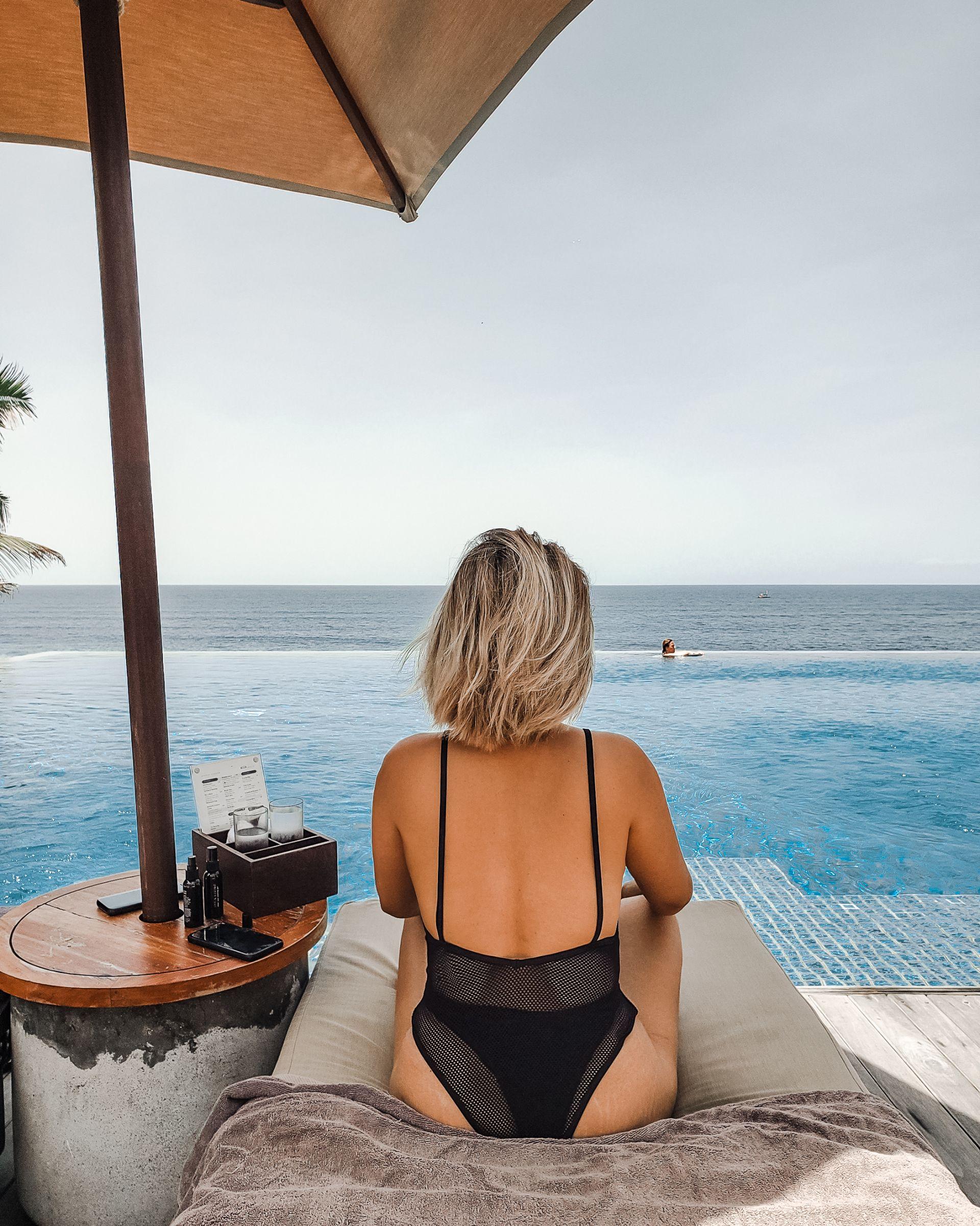 alila hotel infinity pool